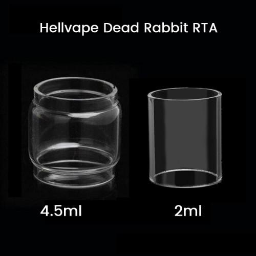 Hellvape Dead Rabbit RTA Glass Tube 2ml /4.5ml