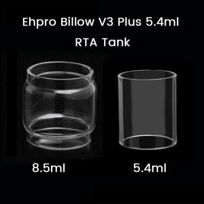 Ehpro Billow V3 Plus 5.4ml RTA Tank Glass Tube 5.4ml/8.5ml