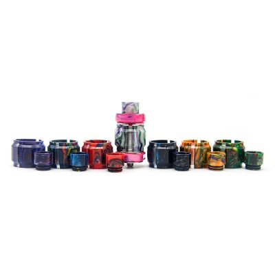 Freemax Mesh Pro Resin Bulb Tube&Drip Tip Set