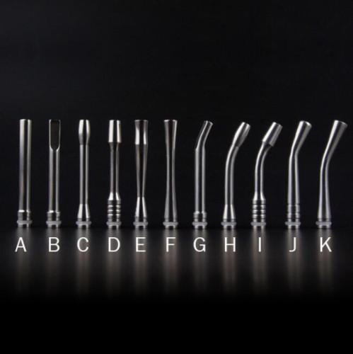 510 Stainless Steel 65mm Long drip tips - YXE022