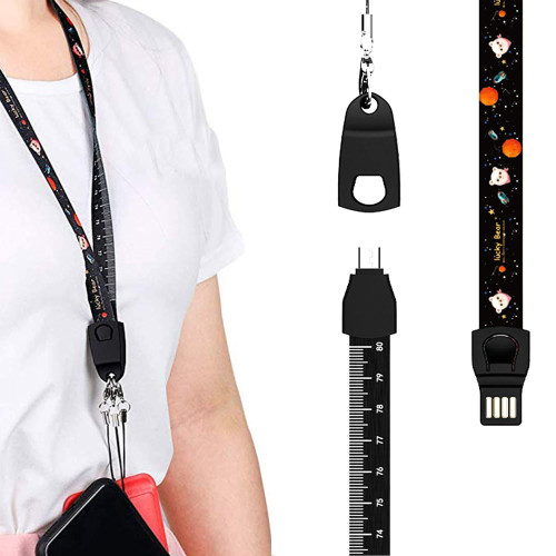 3 in 1 Portable Charging Lanyard For