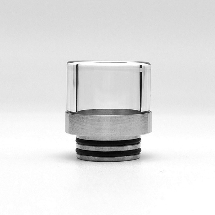 810 Anti-Spill Stainless and Glass Drip Tip