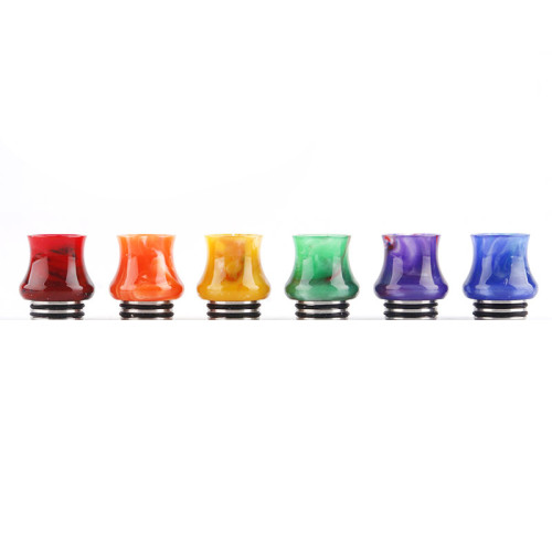 810 Calabash Style Stainless and Resin Drip Tip