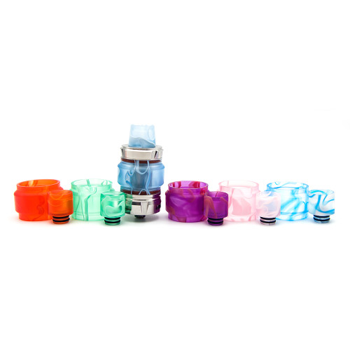 Horizontech Falcon Tank Resin Tube and Drip Tip Set