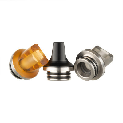 810 Stainless and Resin Flat Drip Tip