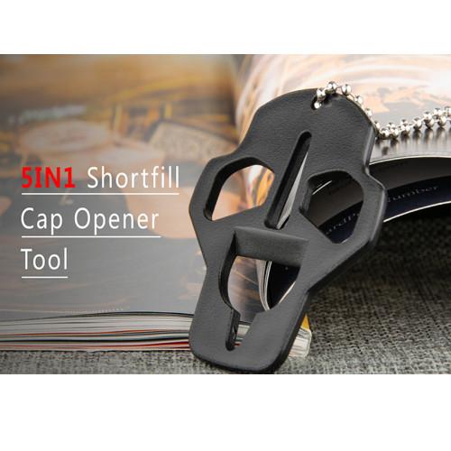 5 in 1 Skull Shortfill Bottle Cap Opener Tool