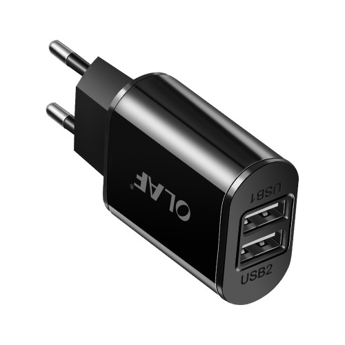 5V 2A Fast Charging Dual USB Wall Charger