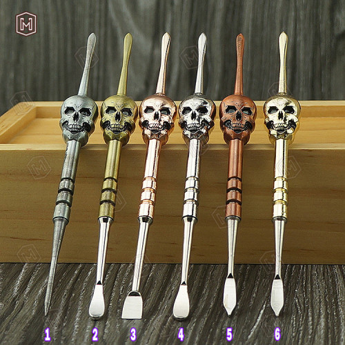 Stainless Skull Style Dab tools for Wax