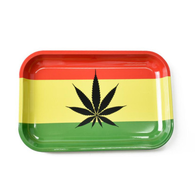 Metal Cigarette Rolling Tray 280mm*180mm