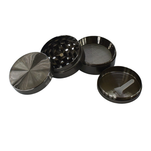 4 Layers Zinc Alloy Dry Herb Grinder