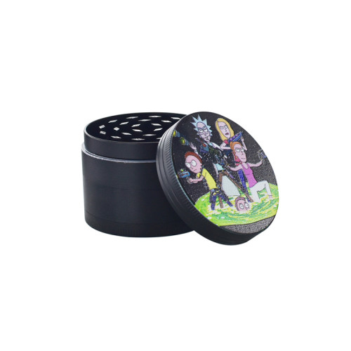 2020 Hot selling Cartoon Style 4 Layer Herb Grinder