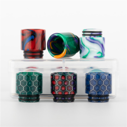 6 in 1 810 Drip Tips kit Style B