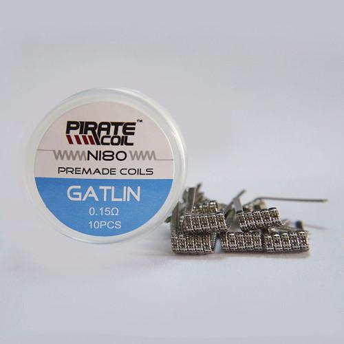 New Ni80 Premade Gatlin Coil 10pcs