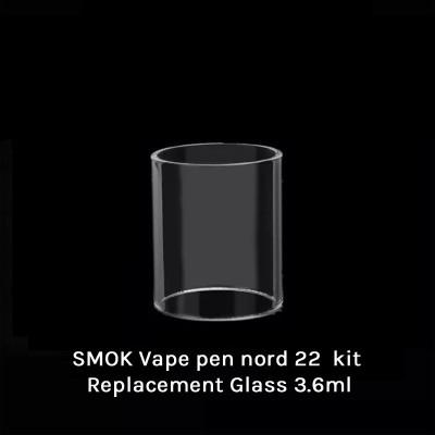 SMOK Vape pen nord 22  kit Replacement Glass  3.6ml