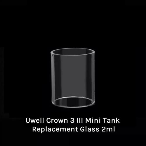 Uwell Crown 3 III Mini Tank Replacement Glass 2ml