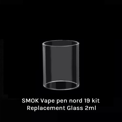 SMOK Vape pen nord 19 kit Replacement Glass  2ml