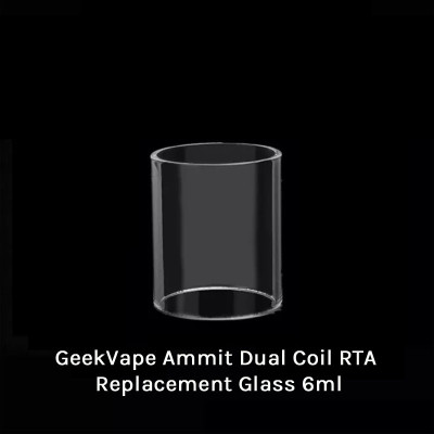 GeekVape Ammit Dual Coil RTA Replacement Glass 6ml