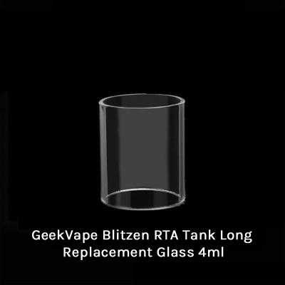 GeekVape Blitzen RTA Tank Long Replacement Glass 4ml
