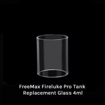 FreeMax Fireluke Pro Tank Replacement Glass 4ml
