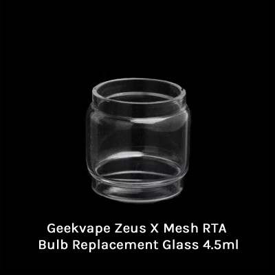 Geekvape Zeus X Mesh RTA Bulb Replacement Glass 4.5ml