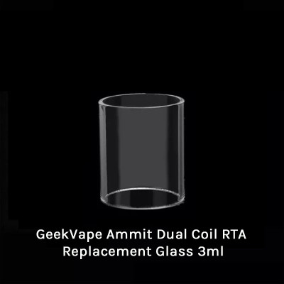 GeekVape Ammit Dual Coil RTA Replacement Glass 3ml