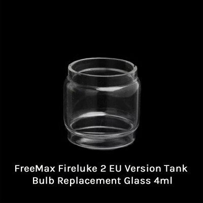 FreeMax Fireluke 2 EU Version Tank Bulb Replacement Glass 4ml