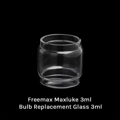 Freemax Maxluke 3ml Bulb Replacement Glass 3ml