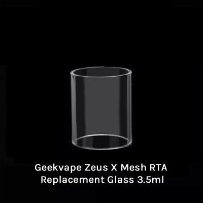 Geekvape Zeus X Mesh RTA Replacement Glass 3.5ml