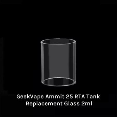 GeekVape Ammit 25 RTA Tank Replacement Glass 2ml