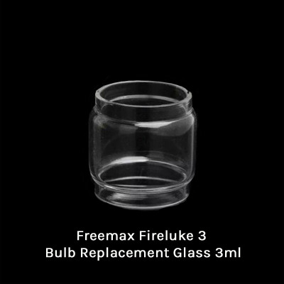 Freemax Fireluke 3 Bulb Replacement Glass 3ml