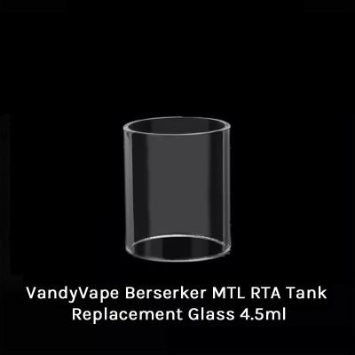 VandyVape Berserker MTL RTA Tank Replacement Glass 4.5ml