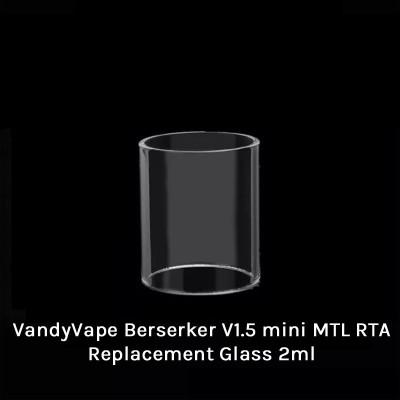 Vandy Vape Berserker V1.5 mini MTL RTA Tank Replacement Glass 2ml