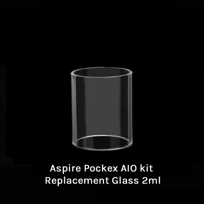 Aspire Pockex AIO kit Replacement Glass 2ml