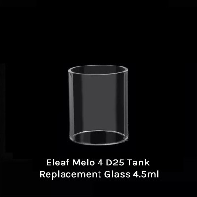 Eleaf Melo 4 D25 Tank Replacement Glass 4.5ml