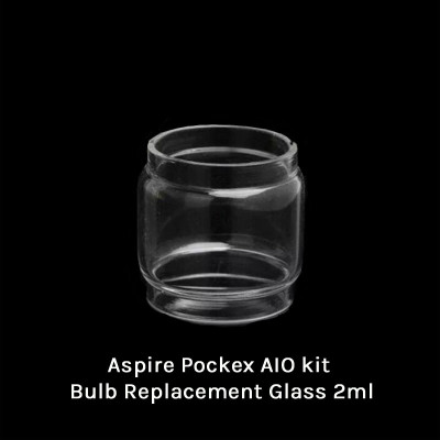 Aspire Pockex AIO kit Bulb Replacement Glass 2ml