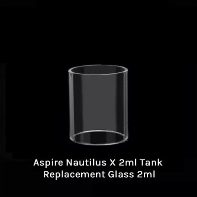 Aspire Nautilus X 2ml Tank Replacement Glass 2ml