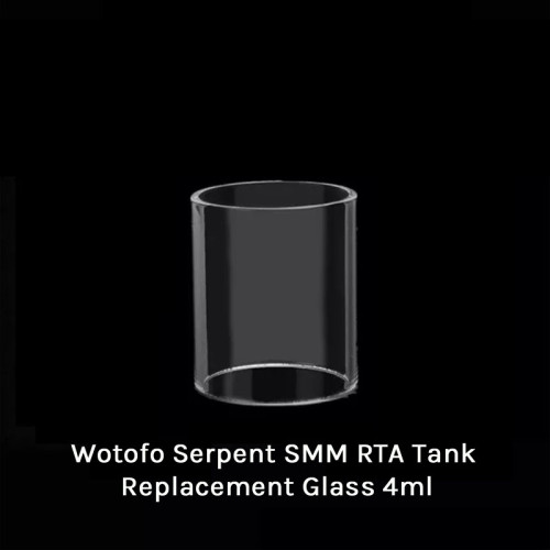 Wotofo Serpent SMM RTA Tank Replacement Glass 4ml