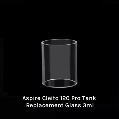 Aspire Cleito 120 Pro Tank Replacement Glass 3ml