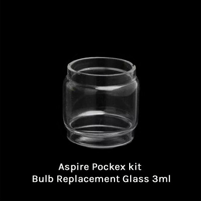 Aspire Pockex kit Bulb Replacement Glass 3ml