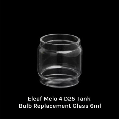 Eleaf Melo 4 D25 Tank Bulb Replacement Glass 6ml