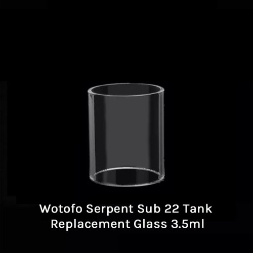 Wotofo Serpent Sub 22 Tank Replacement Glass 3.5ml