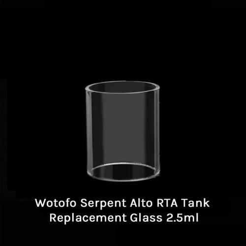 Wotofo Serpent Alto RTA Tank Replacement Glass 2.5ml