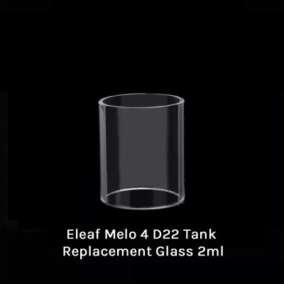 Eleaf Melo 4 D22 Tank Replacement Glass 2ml