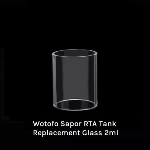 Wotofo Sapor RTA Tank Replacement Glass 2ml