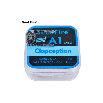 Geekfire Premade A1 Clapception coil 0.68ohm 6pcs