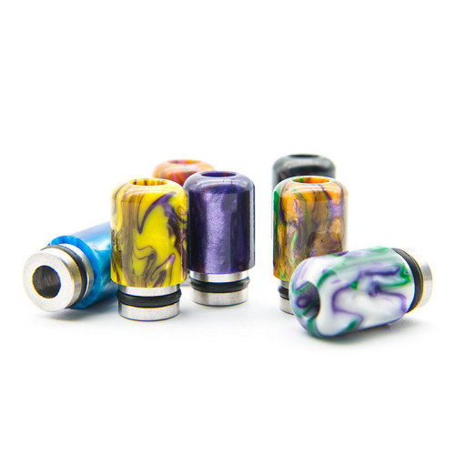 510 Stainless and Resin Drip Tips