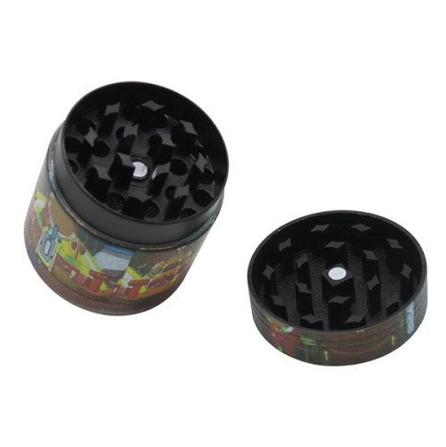 4 Layer Rick and Morty Tobacco Grinder 40MM, 50MM, 63MM