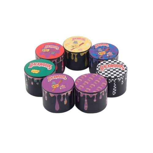 4 Layer Backwood Tobacco Grinder 40MM, 50MM, 55MM, 63MM