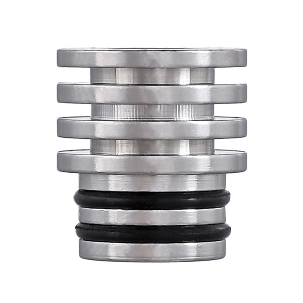 510 Long Stainless Drip Tip with Heat Sink