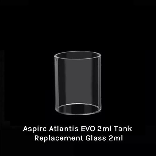 Neutral Aspire Atlantis EVO 2ml Tank Replacement Glass